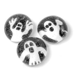 Halloween handgemachte Kühlschrankmagnete, 3er-Set, Gespenst