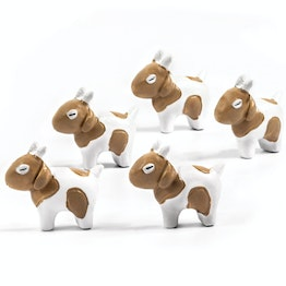 Goats fridge magnets in goat shape, set of 5
