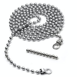Photo rope Pearly 1,5 m with 2 loops, incl. 10 magnets