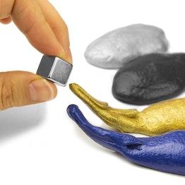 Pâte magnétique intelligente pâte intelligente ferromagnétique, différentes couleurs, aimant non inclus dans la livraison