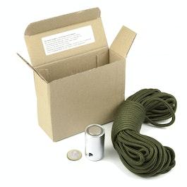 Magnete 'cerca-tesoro' magnete per il recupero di oggetti metallci, con 15 m di corda di nylon