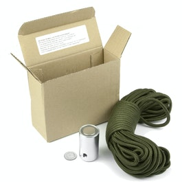 Treasure hunter magnet retrieval magnet, with 15 m nylon cord