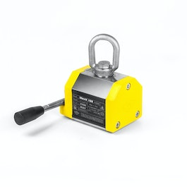 Lifting magnet MaxX 125 maximum load 125 kg, for flat and round stock, safety factor 3:1