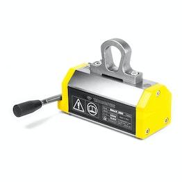 Elevador magnético MaxX 250 carga máxima 250 kg, para material redondo y plano, factor de seguridad 3:1