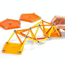 Geomag Color 64 gioco di costruzioni magnetiche, 64 pezzi