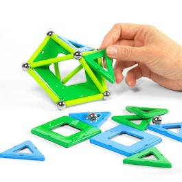 Geomag Panels 32 magnetic construction set, 32 pieces
