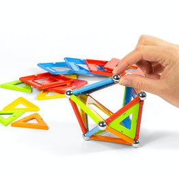 Geomag Confetti 50 magnetic construction set, 50 pieces