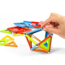 Geomag Confetti 50 jeu de construction magnétique, 50 pièces