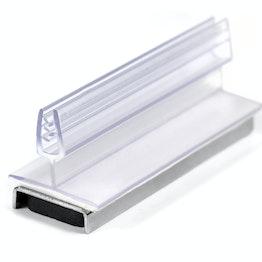 Schilderhalter magnetisch hält ca. 10 kg, mit vertikalem, nach oben gerichtetem Greifer, aus Kunststoff