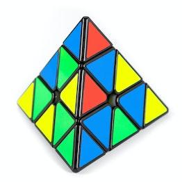 Pyramide magique Pyraminx speed cube magnétique, Bell Pyraminx de QiYi