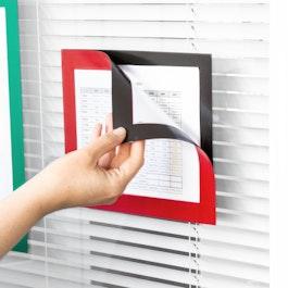 Magnet-Rahmen selbstklebend A5 zum Aufhängen von Hinweisen, Format A5