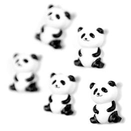 Aimants panda aimants pour frigo en forme de panda, lot de 5