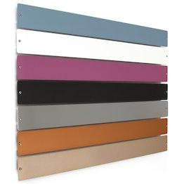 Barra metallica 'Element Big' 70 cm supporto per magneti, da avvitare, incl. 12 potenti magneti, in diversi colori