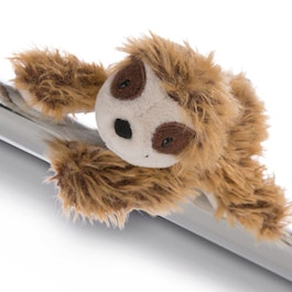 MagNICI magnetic plush toys sloth Chill Bill, with magnets in paws, approx. 12 cm