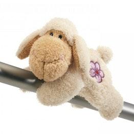 Peluche magnetici MagNICI pecora Jolly Lovely, con un magnete cucito in ogni zampa, ca. 12 cm