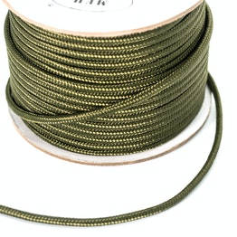 Polypropylene rope 5 mm x 60 m for magnet fishing, olive, not a climbing rope!