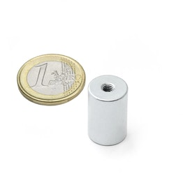 BMN-IT-13 deep pot magnet Ø 13 mm with internal thread, thread M4