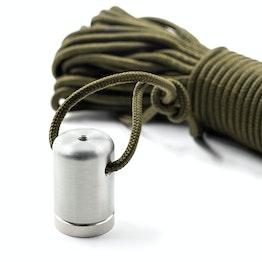 Schatzsucher-Magnet David 30 Bergemagnet, mit 15 m Nylonseil