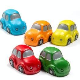 Imanes de nevera «Traffic» con forma de coche, surtido, 5 uds.