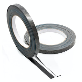 Ferrous tape self-adhesive 5 m x 10 mm self-adhesive surface for magnets, rolls of 5 m each, in different colours