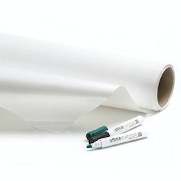 Foglio autoadesivo per lavagna bianca superflex 10 m², bianco, si può pulire con un panno asciutto, non è un supporto per magneti