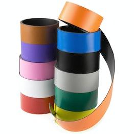 Cinta magnética de colores 40 mm cinta magnética para rotular y cortar, rollos de 1 m
