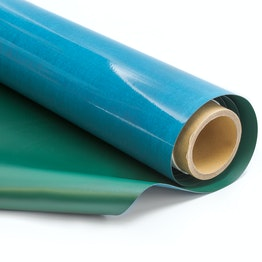 Tafelfolie 1 x 5 m selbstklebend ferromagnetisch Haftgrund für Magnete, Rolle à 1 x 5 m, grün