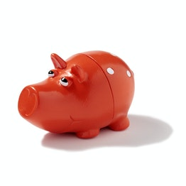 Piggy magnetic memo holder Pig