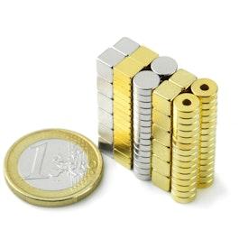Set 114 Set aus 114 kleinen Magneten
