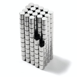 S-02-02-N Disque magnétique Ø 2 mm, hauteur 2 mm, tient env. 150 g, néodyme, N48, nickelé