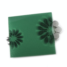 Détecteur de flux petit film pour visualiser un champ magnétique, env. 75 x 75 mm