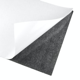 Self-adhesive magnetic sheet A4 format, to cut & glue, grey-black