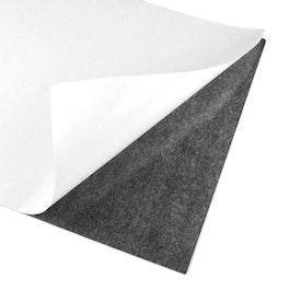 Lámina magnética adhesiva formato A4, para recortar y pegar, gris-negro