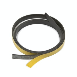 Magnetic adhesive tape ferrite 10 mm self-adhesive magnetic tape, rolls of 1 m / 5 m / 25 m