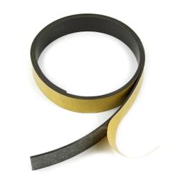 Nastro magnetico adesivo ferrite 20 mm nastro magnetico autoadesivo, rotoli da 1 m / 5 m / 25 m