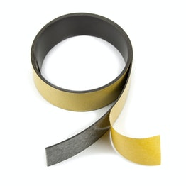 Magnetic adhesive tape ferrite 30 mm self-adhesive magnetic tape, rolls of 1 m / 5 m / 25 m