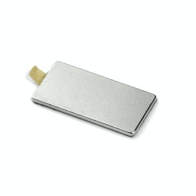 eckige magnete selbstklebend 20 x 10 x 1 mm supermagnete. Black Bedroom Furniture Sets. Home Design Ideas