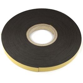 Bande magnétique adhésive ferrite 20 mm bande magnétique autocollante, rouleau de 25 m