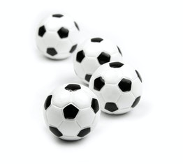 """Kühlschrankmagnete """"Kicker"""" hält ca. 400 g, Fußball-Magnete, 4er-Set"""