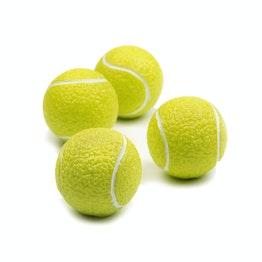 Calamite da frigo 'Grand Slam' magneti a pallina da tennis, set da 4