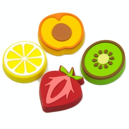 Fruity aimants décoratifs en forme de fruits, lot de 4