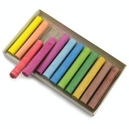 Set di gessi per lavagna colorati per scrivere su lavagne a parete, set da 12