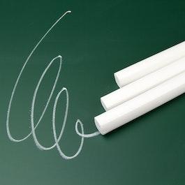 Wandbordenkrijt wit om wandborden te beschrijven, set van 12