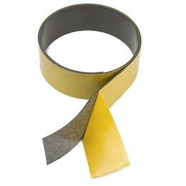 Magnetic adhesive tape ferrite 40 mm self-adhesive magnetic tape, rolls of 1 m / 5 m / 25 m