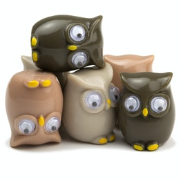 Aimants hiboux aimants pour frigo en forme de hibou, lot de 6