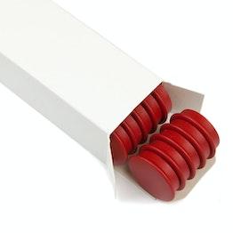 Imanes de oficina «Boston Xtra» redondos 25 uds. imanes de neodimio para tablones, Ø 32,6 mm, 25 uds., en diferentes colores