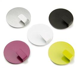 """Magneethaken """"Solid"""" houdt ca. 2,6 kg, stijlvolle magnetische haken, set van 4"""