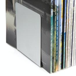 Serre-livres magnétiques en métal, lot de 2, dans différentes couleurs