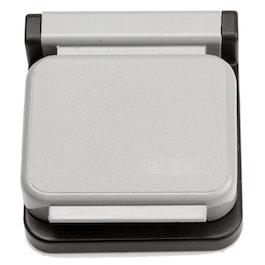 Pinzas magnéticas MAUL adhesivas, 10 uds., gris