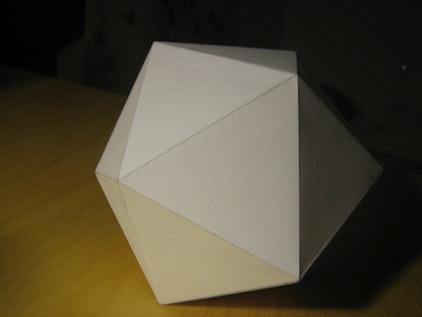 Un icosaedro